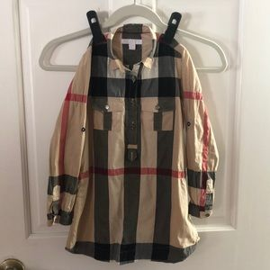 Size 4 Burberry Shirtdress